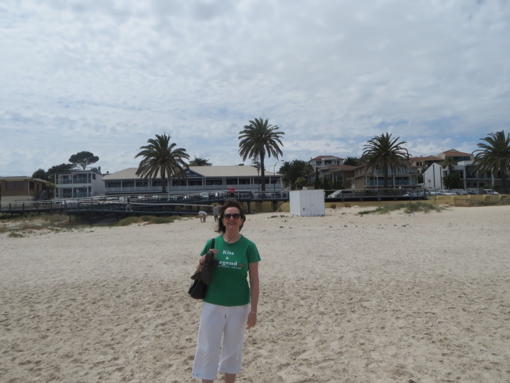The next three photos have a beach theme. This is Seacliff Beach where I spent most of my summers