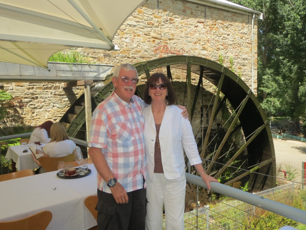 November 2015 holiday in Adelaide, South Australia photos. We're at the Old Mill in Balhannah for afternoon tea