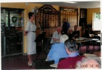 While we were living on the Sunshine Coast in Queensland I was very active giving regular talks to clubs such as Probus.