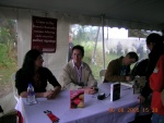 2005 Byron Bay Writers Festival book signing