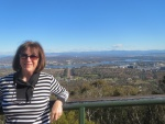 A view of Canberra from the Mt Ainslie lookout.