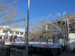 Every winter Canberra builds a temporary ice skating rink in the heart of the city