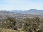 This photo is taken from the top of my local mountain, Mt Wanniassa. I'm looking northwards. Europe is that way!